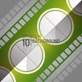 Editable Cinema Background Design. Vector Elements. Minimal  Film Illustration. EPS10. Editable Cinema Background Design. Vector Elements. Minimal  Film Royalty Free Stock Images