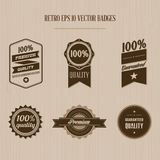 Vintage badges Royalty Free Stock Photo