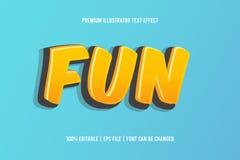 Free Editable Fun Text Effect Vector Stock Photography - 183862352
