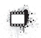 editable grunge рамки пленки Стоковое Изображение RF