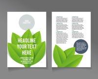Editable A4 poster for design Stock Photos