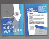 Editable A4 poster for design Royalty Free Stock Photo