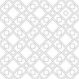 Editable Seamless Geometric Pattern Tile Stock Image
