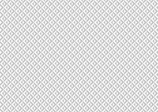 Editable Seamless Greeting Card Pattern. Triangular and Diamond Shape in Silver and White Color Stock Photos