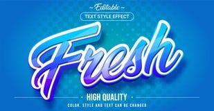 Free Editable Text Style Effect - Fresh Theme Style Stock Image - 196373001