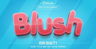 Free Editable Text Style Effect - Vibe Theme Style Royalty Free Stock Image - 196086106
