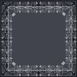 Editable vector decorative frame Stock Images