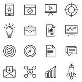 Editable Vektorsatz Lizenzfreie Stockfotos
