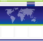 Editable web template Royalty Free Stock Photos