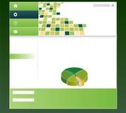 Editable web template Royalty Free Stock Image