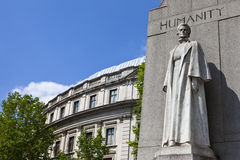 Edith Cavell Memorial in London Stock Photography