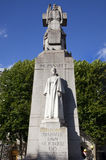 Edith Cavell Statue in Londen. Stock Afbeelding