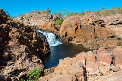 Edith Falls. Or Leliyn falls, Nitmiluk National Park, Northern Territory, Australia royalty free stock image