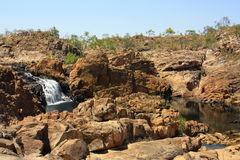 Edith falls, Nitmiluk National Park, Northern Territory, Australia. Beautiful Edith falls, Nitmiluk National Park, Northern Territory, Australia stock images