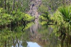 Edith falls, Nitmiluk National Park, Northern Territory, Australia Stock Photos
