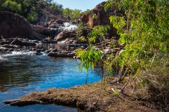 Edith Falls upper pool and cascade, Northern Territory, Australia Stock Photo