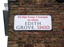 Edith Grove Royaltyfri Bild