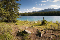 Edith Lake Stock Afbeeldingen