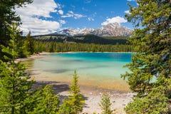 Edith Lake, Canada Stock Afbeeldingen