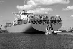Edith Maersk container ship Royalty Free Stock Images