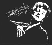 Free Edith Piaf French Singer-songwriter, Cabaret Performer And Film Actress Stock Image - 187678971