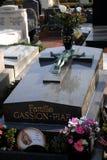 Edith Piaf Grave Stock Photos