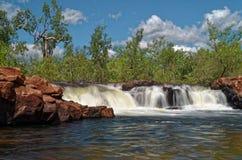 Edith River Cascades en el parque nacional de Nitmiluk fotos de archivo libres de regalías
