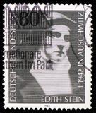 Edith Stein philosopher, Carmelite nuns serie, circa 1983 stock photography