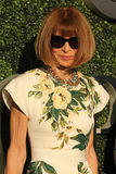 Editor-in-chief of Vogue magazine Anna Wintour at the red carpet before US Open 2016 opening night ceremony Stock Photo