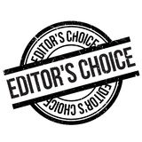 Editor`s choice stamp Stock Photo