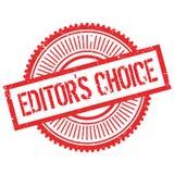 Editor`s choice stamp Stock Photos