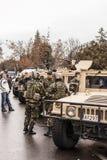 Editorial: antes del 1r del desfile &#x28 de diciembre; 1) Foto de archivo libre de regalías