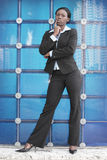 Editorial businesswoman Stock Photo