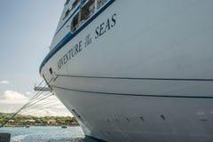 EDITORIAL-CARIBBEAN - NOVEMBER 2015: Royal Caribbean's Adventure of the Seas Stock Photography
