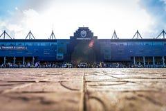 Editorial: Chang Arena, Buriram, Thailand, 8th May 2018. AFC Cha. Mpions League 2018 : Round of 16 teams final : 8 May 2018, Buriram United - Jeonbuk Hyundai Stock Images