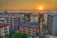 Editorial: Cidade de Banguecoque, Tailândia, o 22 de março de 2017 Apartamento Fotografia de Stock