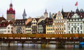 Editorial: 18 de fevereiro de 2017: Luzern, Suíça Fotografia de Stock