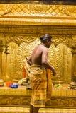 Editorial documental Templo de Arulmigu Manakula Vinayagar, PUDUCHERY, PONDICHERY, TAMIL NADU, la INDIA - marzo circa, 2018 Indio Imágenes de archivo libres de regalías