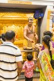 Editorial documental Templo de Arulmigu Manakula Vinayagar, PUDUCHERY, PONDICHERY, TAMIL NADU, la INDIA - marzo circa, 2018 Indio Imagenes de archivo