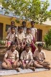 Editorial documentary image. School children Stock Photography