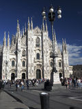 Editorial Duomo Milan Italy Royalty Free Stock Photo