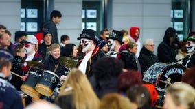 Editorial, el 14 de febrero de 2016: Selestat, Francia: Carnaval y par Fotografía de archivo