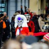 Editorial, el 14 de febrero de 2016: Selestat, Francia: Carnaval y par Imagenes de archivo