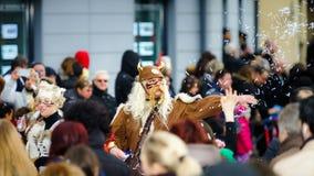 Editorial, el 14 de febrero de 2016: Selestat, Francia: Carnaval y par Fotos de archivo libres de regalías
