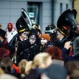 Editorial, el 14 de febrero de 2016: Selestat, Francia: Carnaval y par Fotografía de archivo libre de regalías