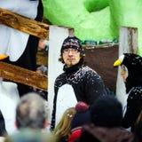Editorial, el 14 de febrero de 2016: Selestat, Francia: Carnaval y par Foto de archivo