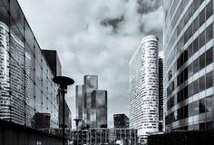 Editorial, el 14 de mayo de 2016: París, Francia Skyscrappers de la defensa VI Fotografía de archivo libre de regalías
