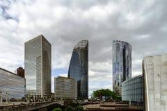 Editorial, el 14 de mayo de 2016: París, Francia Skyscrappers de la defensa VI Imagen de archivo libre de regalías