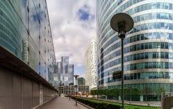 Editorial, el 14 de mayo de 2016: París, Francia Skyscrappers de la defensa VI Fotografía de archivo