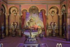 Exotic interior in the Moorish Kiosk Royalty Free Stock Image